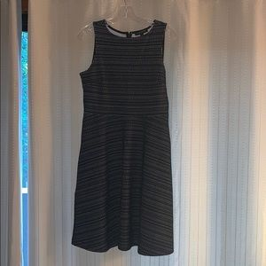 Banana Republic fit and flare work dress